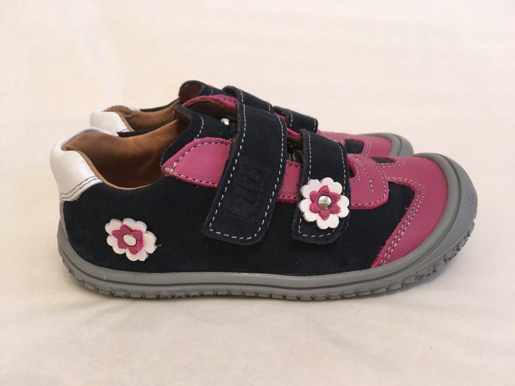 aabf9d091a95 Tenisky ocean pink flower M - Filii Barefoot - Zdravé detské nôžky