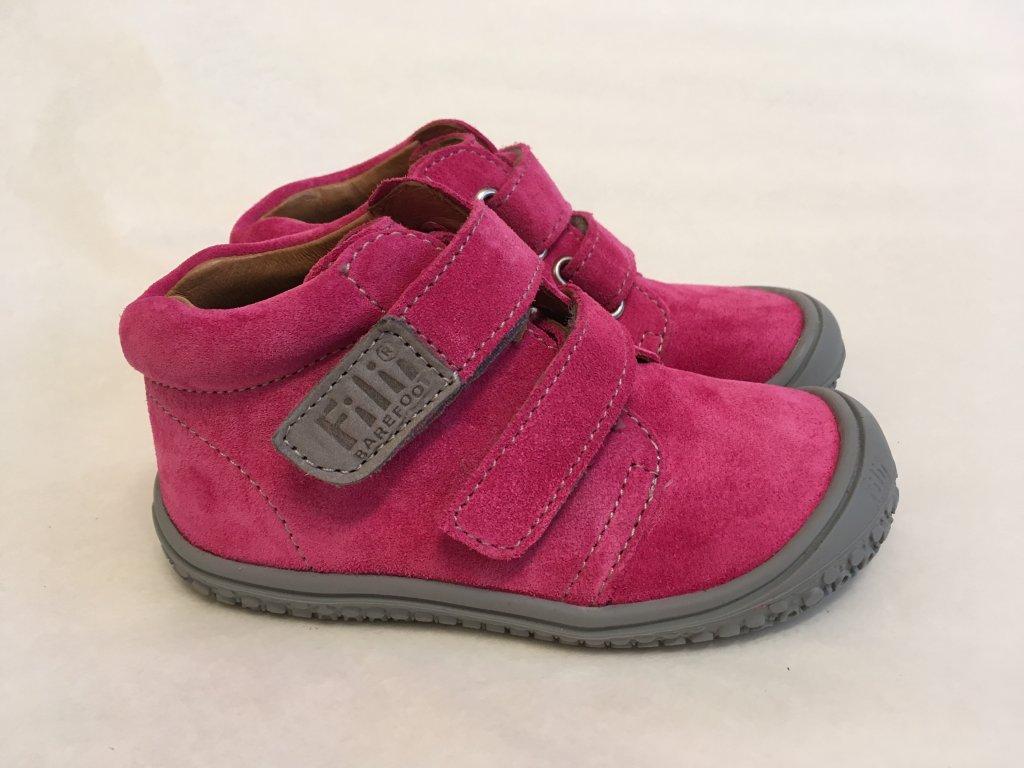 81d1b64ac7e5 Topánky pink stone W - Filii Barefoot - Zdravé detské nôžky