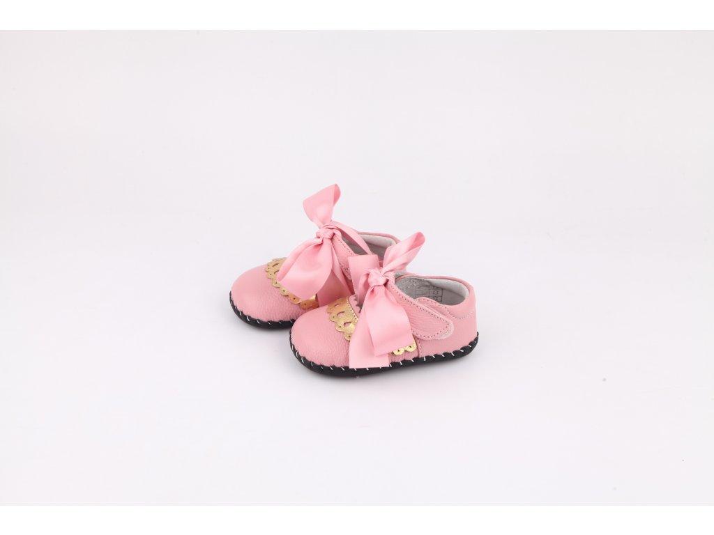 5f4b5b6c11a6 Topánky Mašlička - ružová - Freycoo - Zdravé detské nôžky
