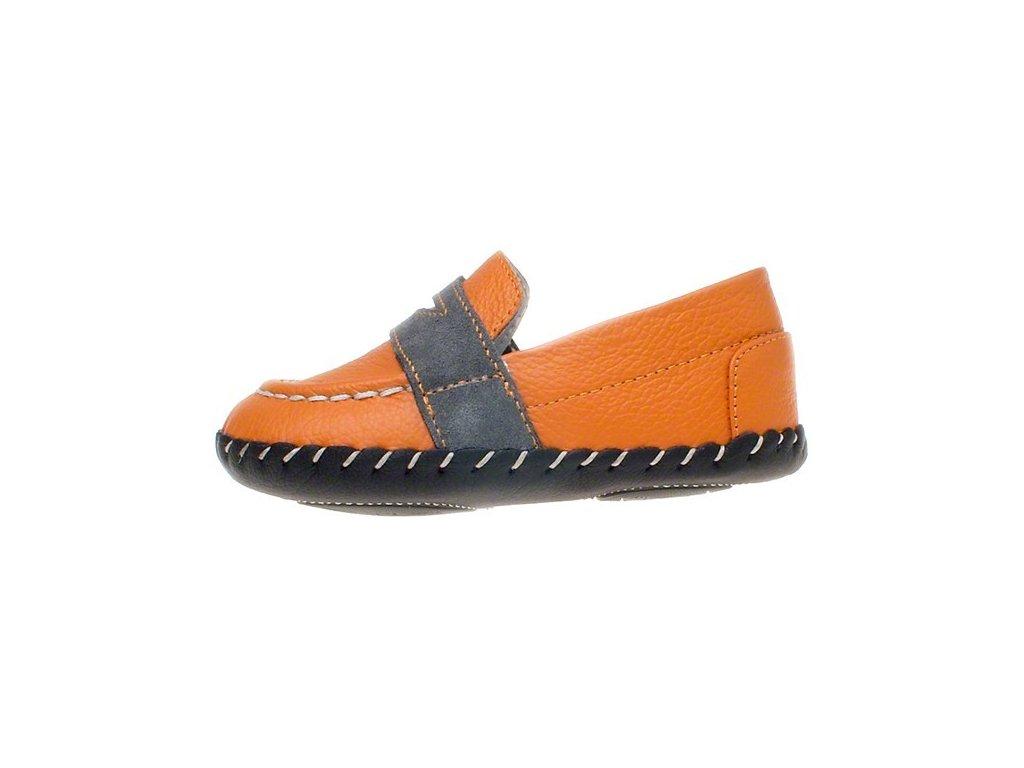 860ef2acabf9 Topánky - oranžová - Little Blue Lamb - Zdravé detské nôžky