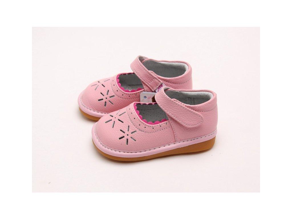 8e50133c3eed Ružové topánočky - Freycoo - Zdravé detské nôžky