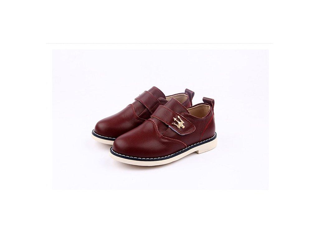 4a2b185382 Bordové topánky - Freycoo - Zdravé detské nôžky