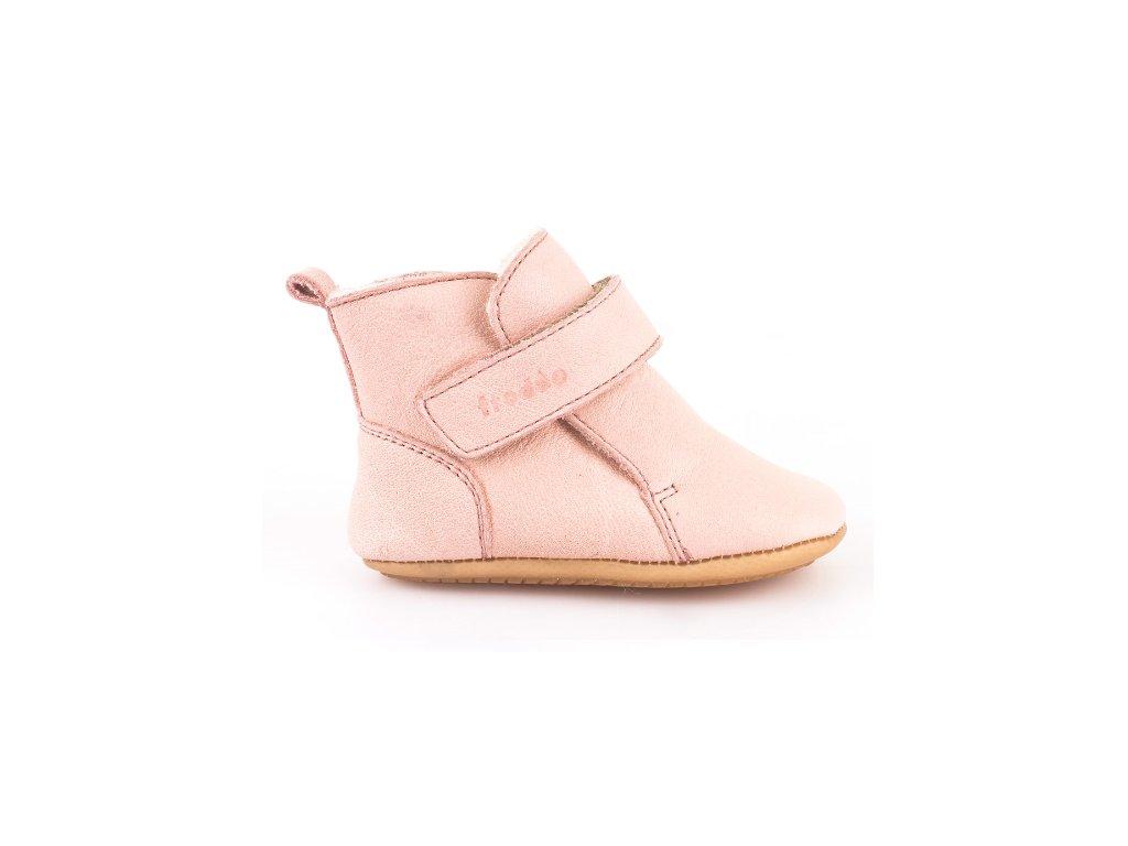 28fb86afdf32 Barefoot čižmičky Pink úzke - Froddo - Zdravé detské nôžky
