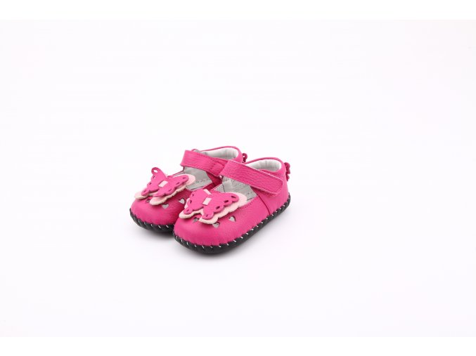 Topánky Motýlik - ružová - Freycoo