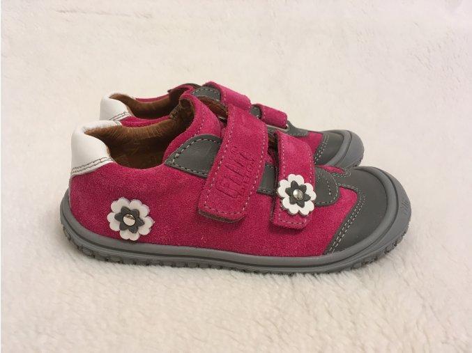 Tenisky pink/stone M - Filii Barefoot