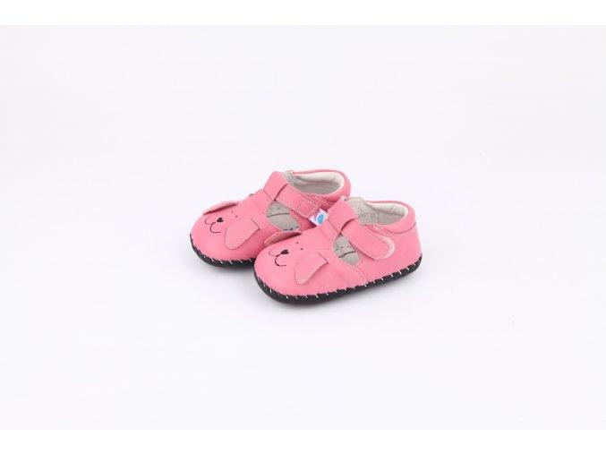 Topánky Psík - ružová - Freycoo