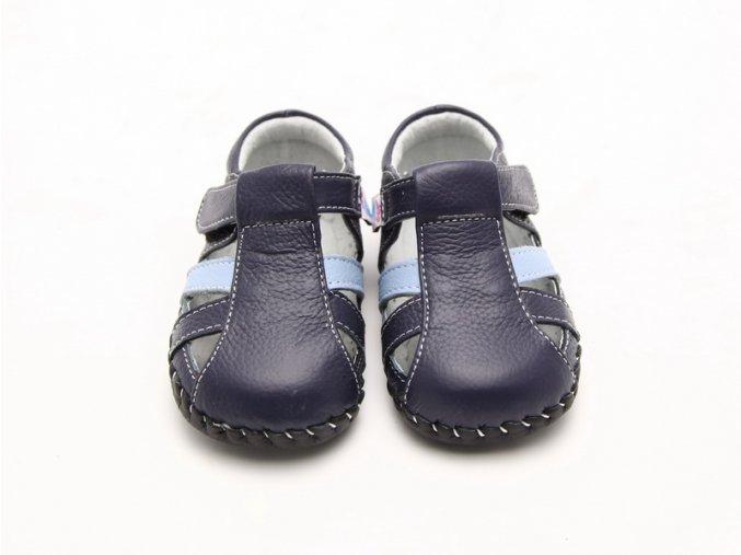Sandálky - tmavomodrá - Freycoo