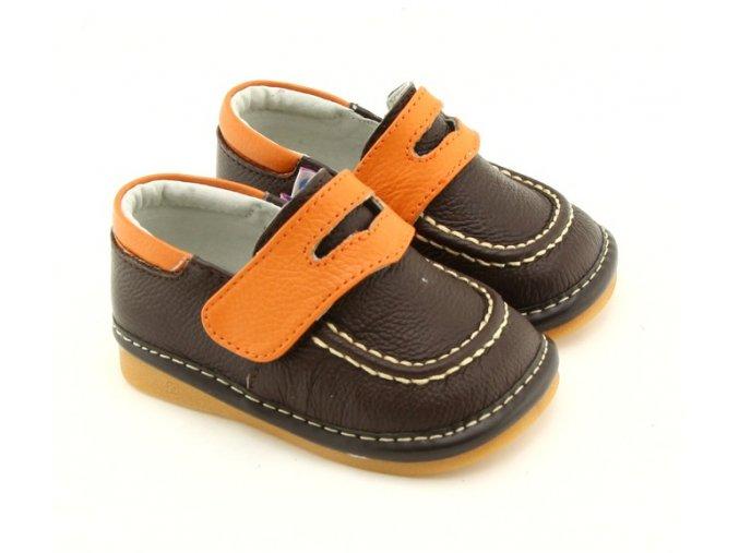 Hnedé topánky - Freycoo