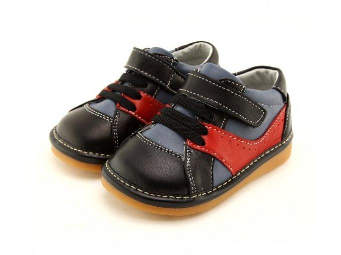 Modro-červené topánky - Freycoo