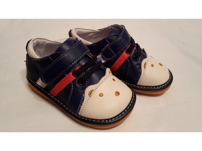 Modré topánky Macko - Freycoo