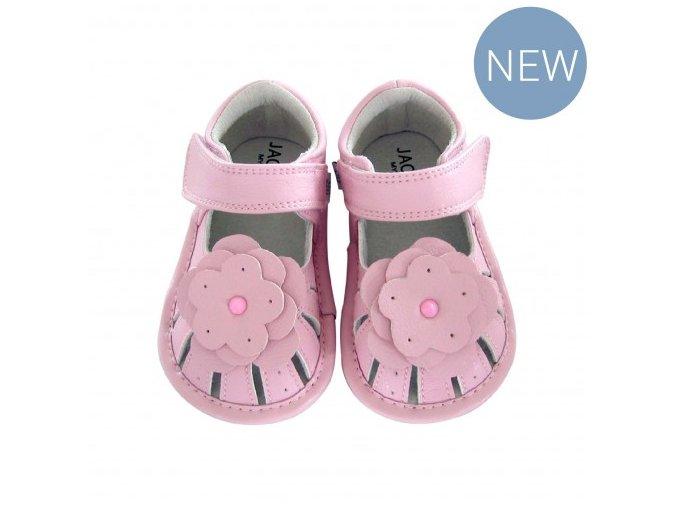 Sabrina flower sandal pink - Jack and Lily