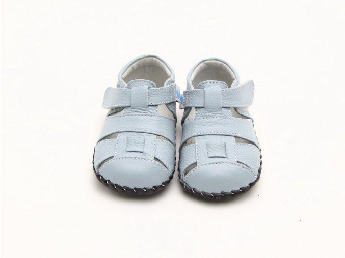 Sandálky - svetlomodrá- Freycoo