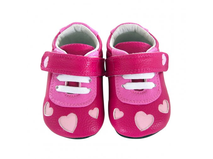 Ellie heart cut-out fuchsia - Jack and Lily
