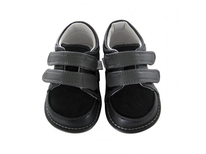 Arlo black suede with grey - Jack and Lily