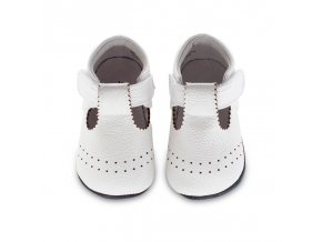Paisley T-strap white - Jack and Lily