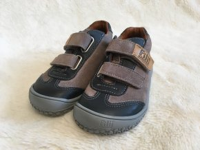 Tenisky ocean/stone Velours W - Filii Barefoot