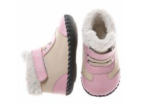 Ružové topánočky - Little Blue Lamb