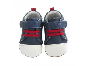 Kristof lace navy / white - Jack and Lily
