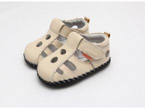 Sandálky - béžová - Freycoo