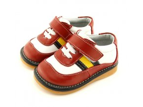 Červeno-biele topánky - Freycoo