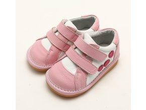 Svetloružové topánočky - Freycoo