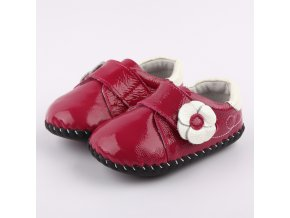 Topánočky - lesklé ružové - Freycoo