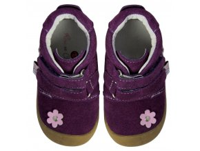 Suede Flower Purple - Rose et Chocolat