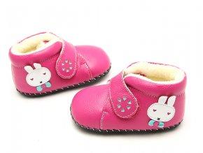 Topánky Zajko - ružová - Freycoo