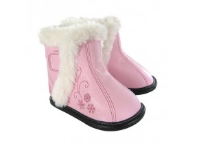 Madison Pink Snowflake Boot - Jack and Lily