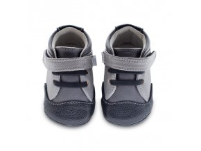Emerson Toe cap grey / black - Jack and Lily