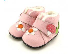Topánky Hríbik - ružová - Freycoo
